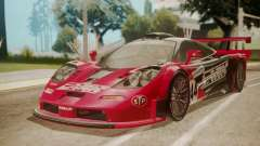 McLaren F1 GTR 1998 Team Lark para GTA San Andreas