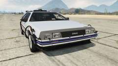 DeLorean DMC-12 Back To The Future para GTA 5
