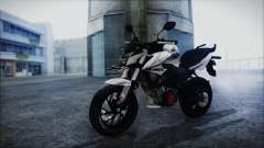 Honda CB150R White para GTA San Andreas