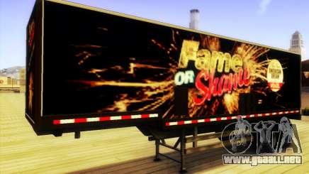 GTA V Fama o la Vergüenza Remolque para GTA San Andreas