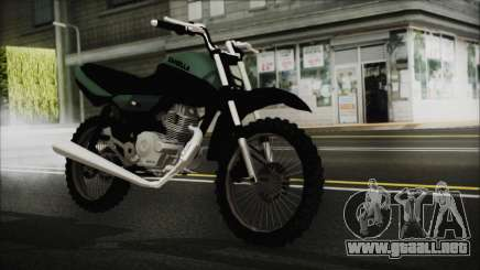 Zanella RX150 Cross para GTA San Andreas