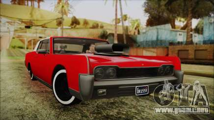 GTA 5 Vapid Chino Custom IVF para GTA San Andreas