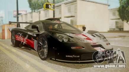McLaren F1 GTR 1998 Day Off para GTA San Andreas