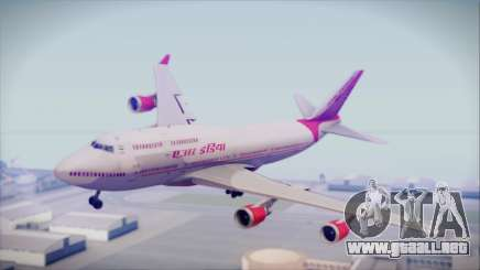 Boeing 747-437 Air India Tanjore Old Skin para GTA San Andreas