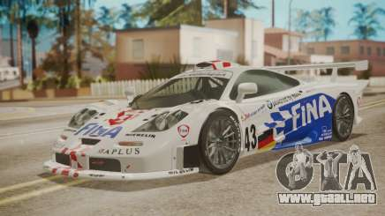McLaren F1 GTR 1998 Team BMW para GTA San Andreas