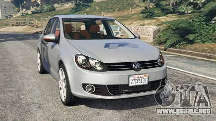 Volkswagen Golf Mk6 v2.0 [WRC Polo] para GTA 5