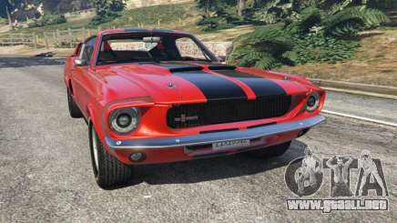 Shelby Mustang GT500 1967 [LowRiders] para GTA 5
