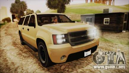 GTA 5 Declasse Granger SA Style para GTA San Andreas