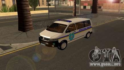 Volkswagen Transporter Buscaminas Ucrania para GTA San Andreas