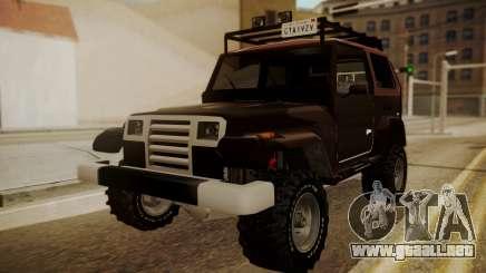 New Mesa Wild para GTA San Andreas