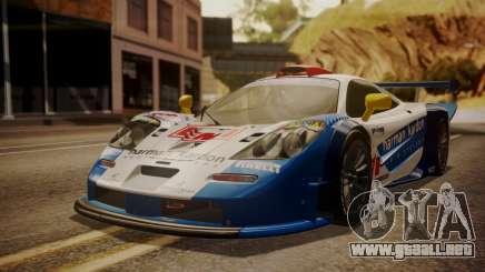 McLaren F1 GTR 1998 HarmanKardon para GTA San Andreas