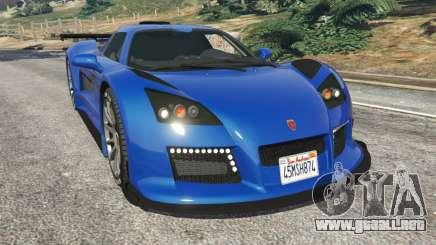 Gumpert Apollo S para GTA 5