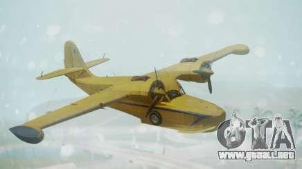 Grumman G-21 Goose VHLXD para GTA San Andreas