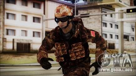 Chinese Army Desert Camo 1 para GTA San Andreas