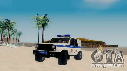 UAZ Hunter PAPS para GTA San Andreas