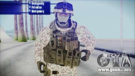 Bundeswehr Desert v1 para GTA San Andreas