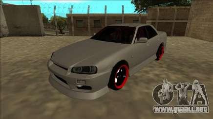 Nissan Skyline ER34 Drift para GTA San Andreas