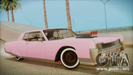 GTA 5 Vapid Chino Hydraulic Version para GTA San Andreas