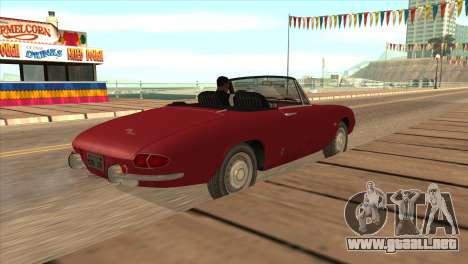 1966 Alfa Romeo Spider Duetto [IVF] para GTA San Andreas left