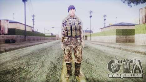 World In Conflict Malashenko Winter para GTA San Andreas segunda pantalla