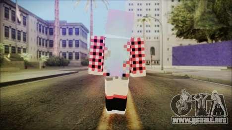 Minecraft Female Skin Edited para GTA San Andreas tercera pantalla
