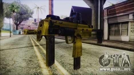 Point Blank MP7 Gold Special para GTA San Andreas