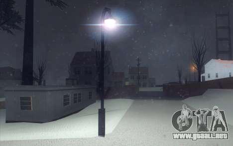 Winter Vacation 2.0 SA-MP Edition para GTA San Andreas novena de pantalla