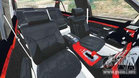 GTA 5 BMW L7 750iL (E38) vista lateral derecha