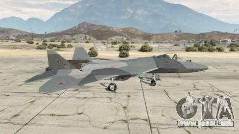 GTA 5 T-50 PAK FA v0.02 segunda captura de pantalla