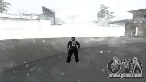 Skin pack para la Rifa de la pandilla para GTA San Andreas segunda pantalla