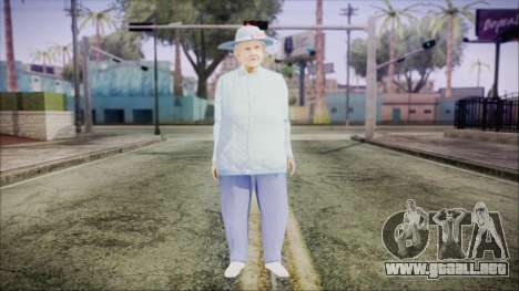 World In Conflict Old Lady para GTA San Andreas segunda pantalla