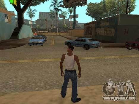 Nuevas animaciones para GTA San Andreas
