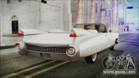 Cadillac Eldorado Biarritz 1959 para GTA San Andreas left
