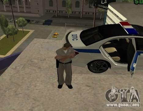 New Animations para GTA San Andreas sucesivamente de pantalla