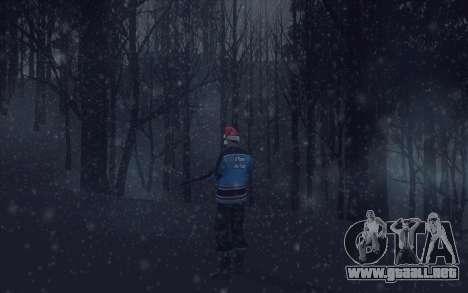Winter Vacation 2.0 SA-MP Edition para GTA San Andreas octavo de pantalla