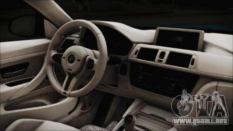 BMW M4 2014 Liberty Walk para la visión correcta GTA San Andreas