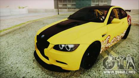 BMW M3 GTS 2011 IVF para el motor de GTA San Andreas