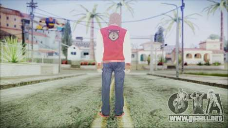 GTA Online Skin 34 para GTA San Andreas tercera pantalla