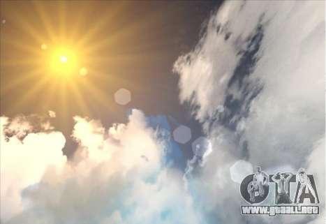 SkyBox and Lensflare para GTA San Andreas segunda pantalla