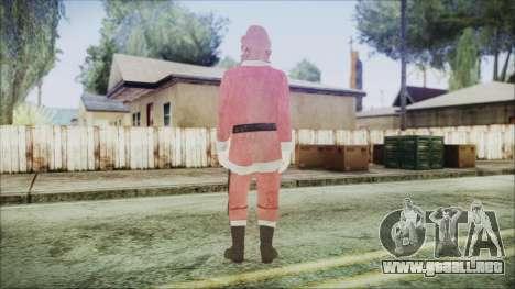 GTA 5 Santa afroamericanos para GTA San Andreas tercera pantalla