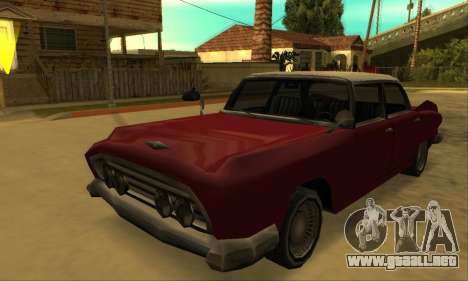 Oceanic Glendale 1961 para visión interna GTA San Andreas