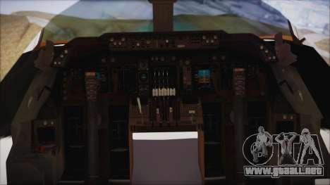 Boeing 747-237Bs Air India Mahendra Verman para la visión correcta GTA San Andreas