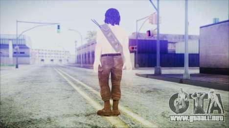 Rambo para GTA San Andreas tercera pantalla