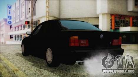BMW 525i E34 1992 para GTA San Andreas left