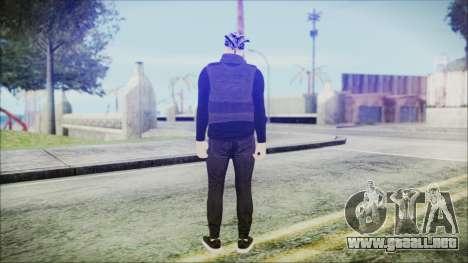GTA Online Skin 59 para GTA San Andreas tercera pantalla