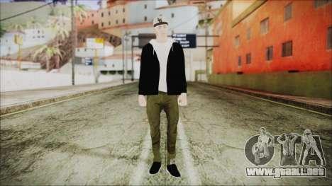 GTA Online Skin 37 para GTA San Andreas segunda pantalla