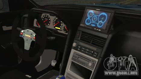 Nissan Skyline R34 Itasha para la visión correcta GTA San Andreas