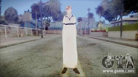 DMC4 Kyrie para GTA San Andreas segunda pantalla
