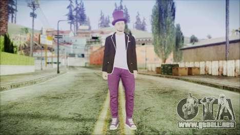 GTA Online Skin 20 para GTA San Andreas segunda pantalla