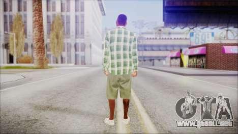 GTA 5 Grove Gang Member 2 para GTA San Andreas tercera pantalla
